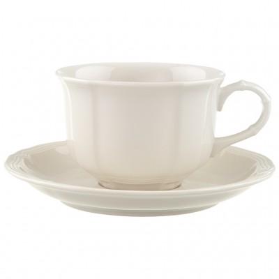Arbatos puodelis su lėkštute